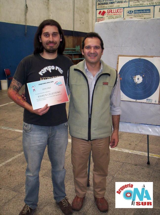 Ruben y su diploma