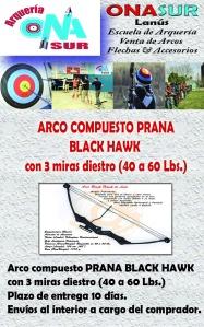 Aviso ARCO COMPUESTO BLACK HAWK MERCADOLIBRE