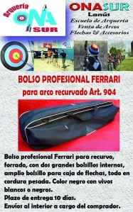 Aviso Bolso Ferrari art 904 MERCADOLIBRE
