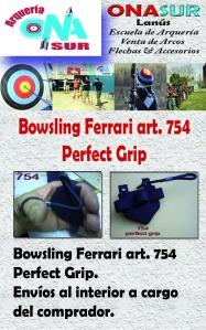 Aviso Bowsling Ferrari art 754 perfect grip MERCADOLIBRE