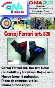 Aviso Carcaj 828 tres tubos MERCADOLIBRE