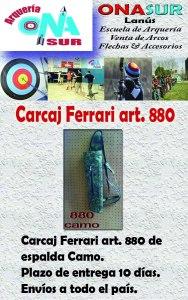 Aviso Carcaj 880 Camo MERCADOLIBRE