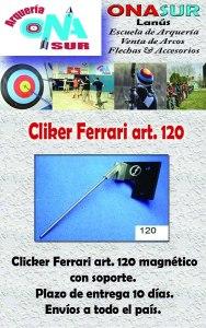 Aviso Clicker art 120 MERCADOLIBRE