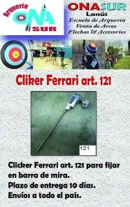 Aviso Clicker art. 121 MERCADOLIBRE