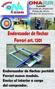 Aviso Enderezador de flechas art 1201 MERCADOLIBRE