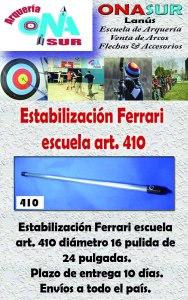 Aviso estatilizacion escuela art 410 MERCADOLIBRE