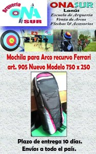 Aviso Mochila art 905 MERCADOLIBRE