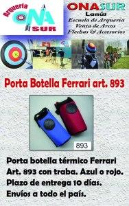 Aviso Porta botella art 893 MERCADOLIBRE