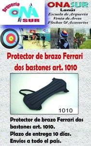 Aviso Protector art 1010 MERCADOLIBRE