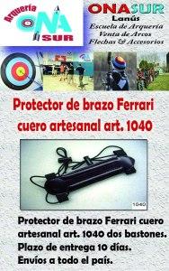 Aviso Protector art 1040 MERCADOLIBRE