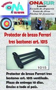Aviso Protector de brazo art 1015 MERCADOLIBRE
