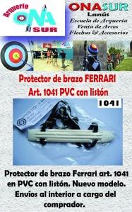 Aviso Protector de brazo art 1041 PVC MERCADOLIBRE