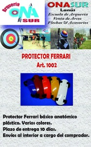 Aviso Protector ferrari art 1002 MERCADOLIBRE