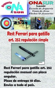 Aviso Rest art. 252 MERCADOLIBRE