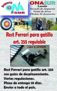 Aviso Rest art 255 MERCADOLIBRE