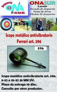 Aviso Scope art 596 MERCADOLIBRE