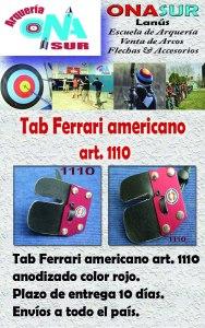 Aviso Tab americano art 1110 MERCADOLIBRE