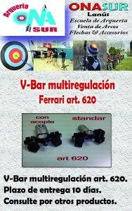 Aviso V-Bar multiregulacion art 620 MERCADOLIBRE