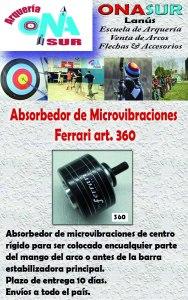 AvisoAbsorbedor microvibraciones art 360 MERCADOLIBRE