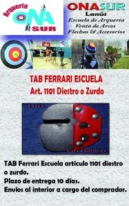 TAB Ferrari art 1101 aviso MERCADOLIBRE